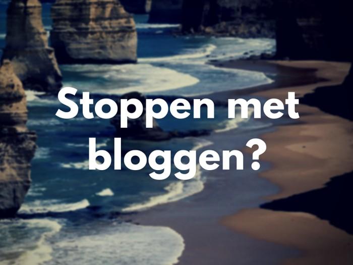 Afbeeldingsresultaat voor stoppen met bloggen